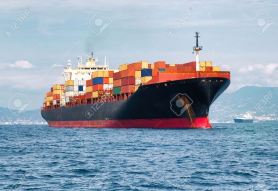 32013635-commercial-cargo-ship-carrying-containers